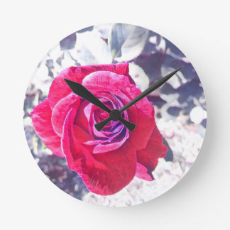 Vintage Rose Wallclocks