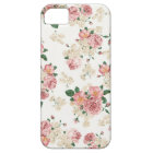 Vintage Rose with White Background iPhone 5 Case