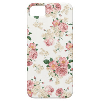 Vintage Rose with White Background iPhone 5 Cover