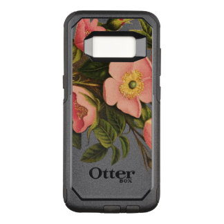 Vintage Roses Antique Drawing Art Phone OtterBox Commuter Samsung Galaxy S8 Case