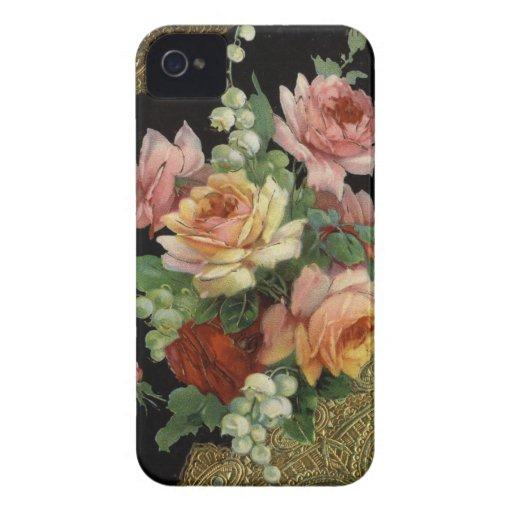 Vintage Roses Case-Mate Blackberry Case