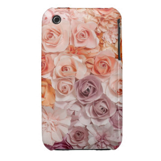 vintage roses Case-Mate iPhone 3 case