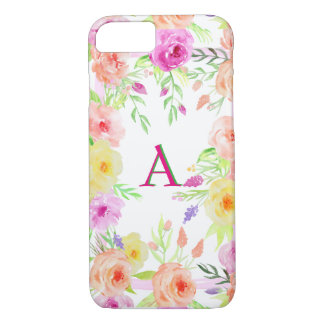 vintage roses country cottage iphone customizable iPhone 7 case