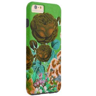 Vintage Roses Garden Tough iPhone 6 Plus Case