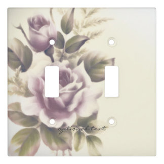 Vintage Roses Old Glamour Elegant Classy Chic Light Switch Cover