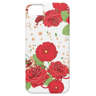 Vintage Roses Ornament and Heart 3 iPhone 5 Cover