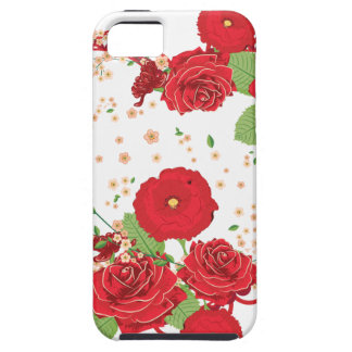 Vintage Roses Ornament and Heart 3 iPhone 5 Covers