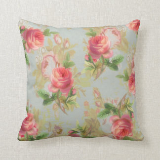 Vintage Roses Pillow