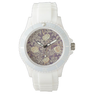 Vintage Roses Pretty Pattern Watch