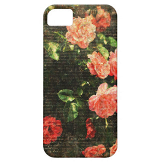 Vintage Roses Scripts by MJ designs iPhone 5/5S Cases