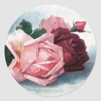 Vintage Roses sticker