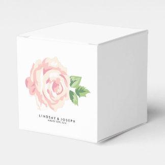 Vintage Roses Wedding Favor Box