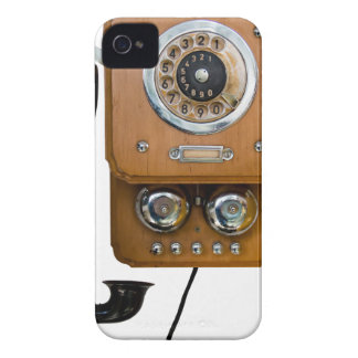 vintage rotary dial land line phone iPhone 4 cases