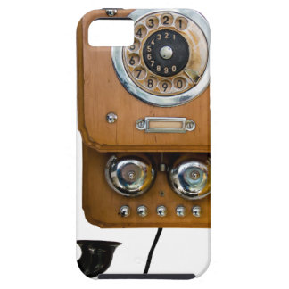 vintage rotary dial land line phone iPhone 5 cases