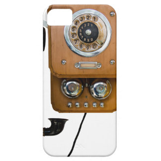 vintage rotary dial land line phone iPhone 5 covers
