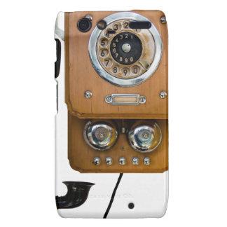 vintage rotary dial land line phone motorola droid RAZR case