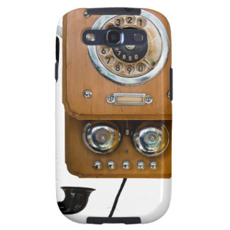 vintage rotary dial land line phone samsung galaxy s3 cover