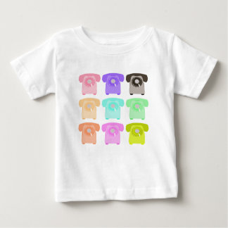 vintage rotary dial telephone baby T-Shirt