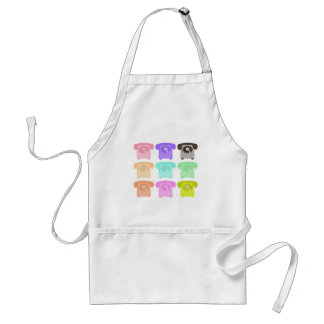 vintage rotary dial telephone standard apron