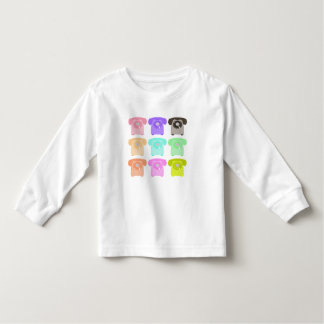 vintage rotary dial telephone toddler t-shirt
