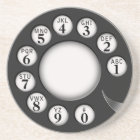 Vintage Rotary Phone Dial Coaster