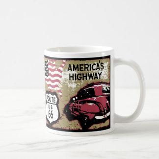 Vintage Route 66 Coffee Mug