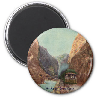 Vintage Royal Gorge Train Magnet