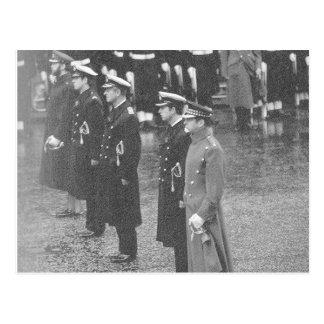 Vintage Royalty, British Princes, Remembrance Day Postcard