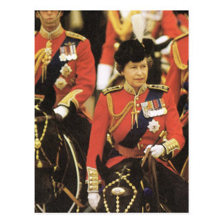 Vintage Royalty, Queen Elizabeth II Postcard