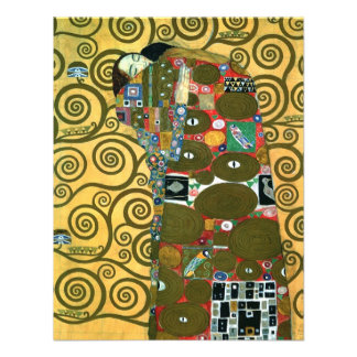 Vintage RSVP, Fulfillment (The Embrace) by Klimt Custom Announcements