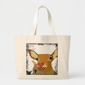 Vintage Rudolph Art Bag