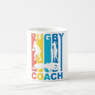 Vintage Rugby Coach Graphic Coffee Mug