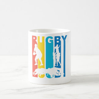 Vintage Rugby Graphic Coffee Mug