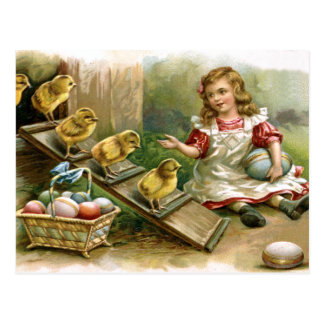 Vintage russian easter gifts vintage russian easter gift ideas vintage russian easter chicks postcard negle Images