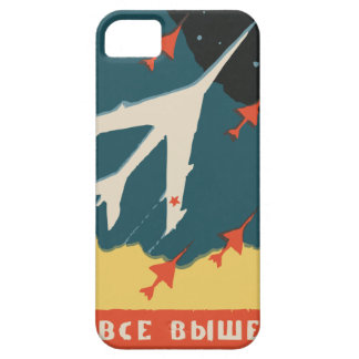 Vintage russian matchbox ads (CCCP Jet Fighters) iPhone 5 Case