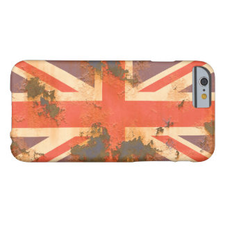 Vintage Rusted United Kingdom Flag Barely There iPhone 6 Case