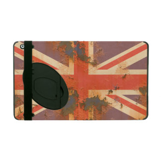 Vintage Rusted United Kingdom Flag iPad Cover