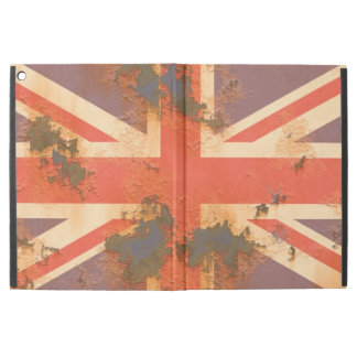 "Vintage Rusted United Kingdom Flag iPad Pro 12.9"" Case"