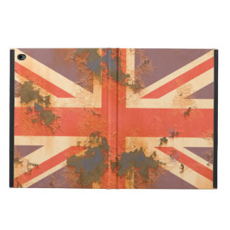 Vintage Rusted United Kingdom Flag Powis iPad Air 2 Case