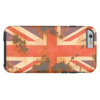 Vintage Rusted United Kingdom Flag Tough iPhone 6 Case