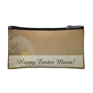 Vintage Rustic Easter Chicken Cosmetic Bags