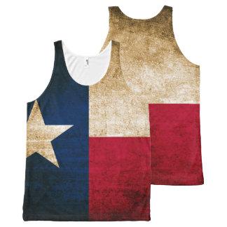 Vintage Rustic Flag of Texas