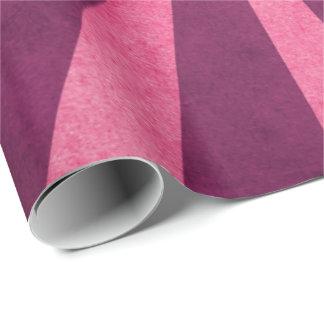Vintage Rustic Pink Starburst Pattern Wrapping Paper