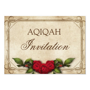 Islamic Flower Invitations Stationery Zazzle Ca