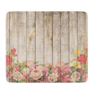 Vintage Rustic Romantic Roses Wood Boards