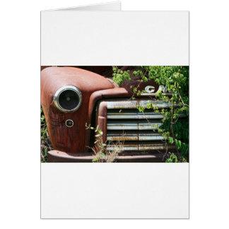 Vintage Rusty GMC Truck Card