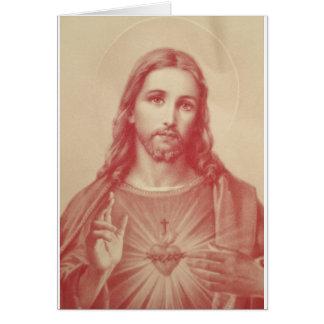 Vintage Sacred Heart of Jesus Cards
