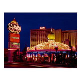 Vintage Sahara Hotel Las Vegas Postcard