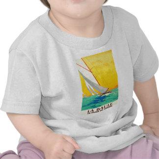 Vintage Sail Boats French Travel Shirts