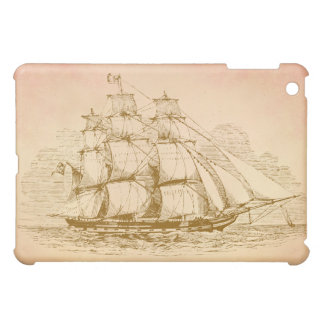 Vintage Sail Ship Case For The iPad Mini